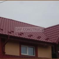 Tigla rosie casa vila acoperis