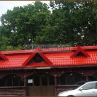 Tigla rosie acoperis pensiune