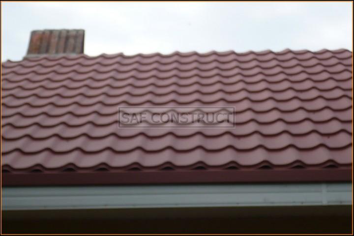 Tigla rosie acoperis casa